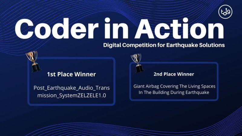 Sağlık Bilimleri Fakültesi'nden deprem yarışmasında ikincilik