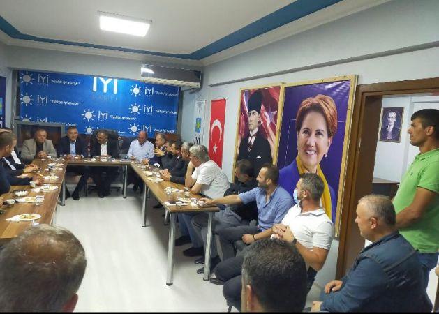 İYİ Parti  Ferizli ilçe başkanını ziyaret etti