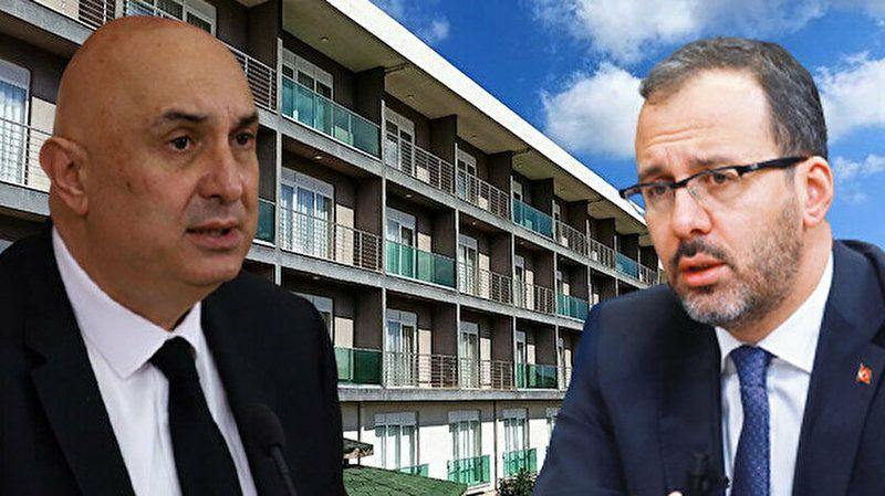 """Bakan Kasapoğlu'ndan Özkoç'a """"yurt"""" cevabı..."""