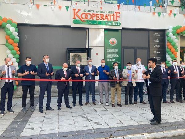 Tarım Kredi marketi Akyazı'da açıldı