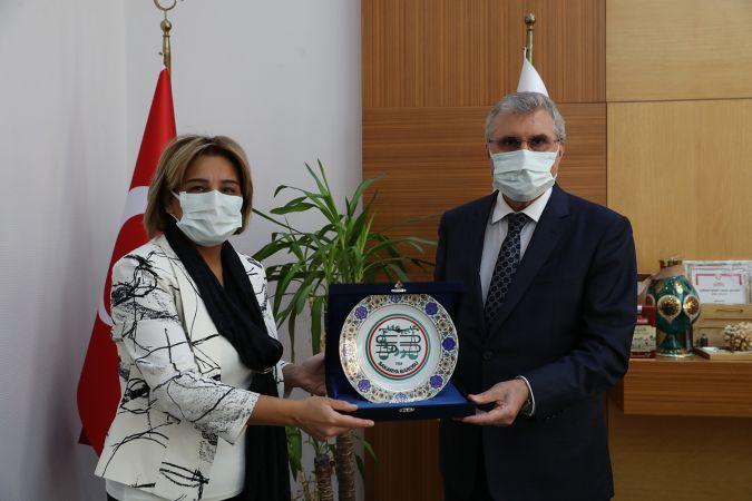 Baro Başkanı Yıldız'dan Başkan Yüce'ye iade-i ziyaret