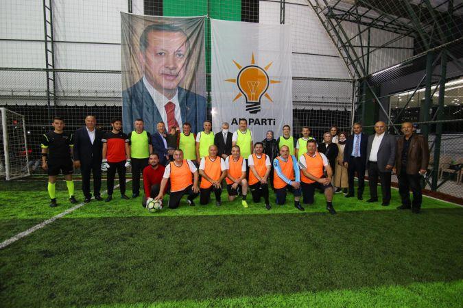 AK Parti ilçeler arası futbol turnuvası başladı