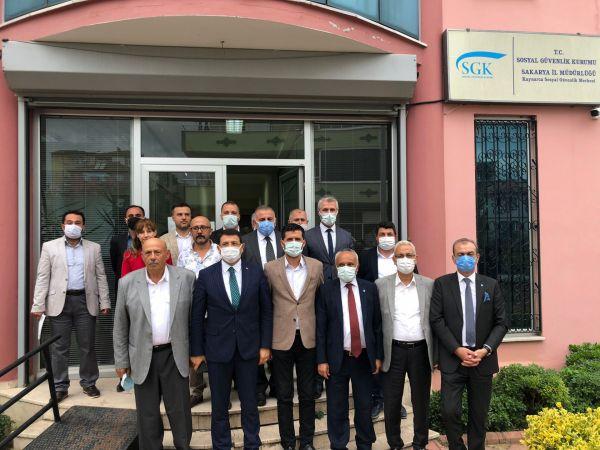 Türk-İş ve Kaynarca ilçe ziyaretleri