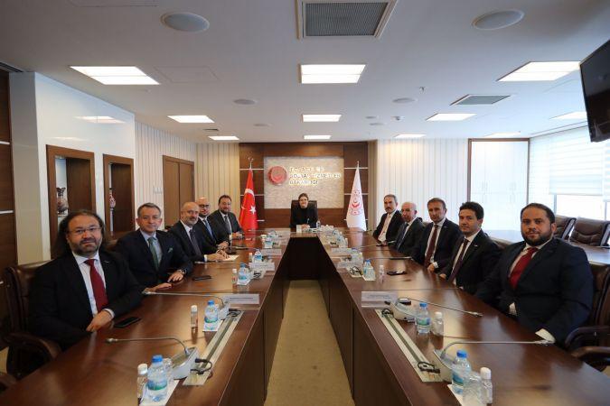 MUSİAD'dan Ankara ziyareti