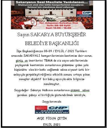 CHP'den Yüce'ye rapor!