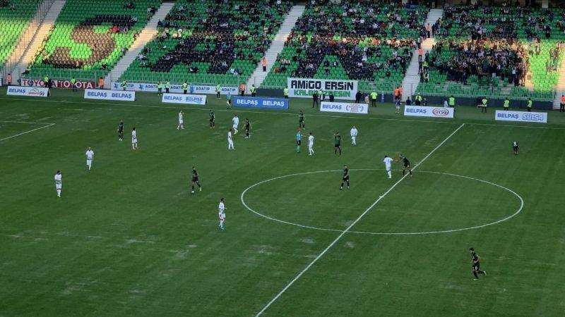 Sakaryaspor Bodrum'u devirdi 1-0