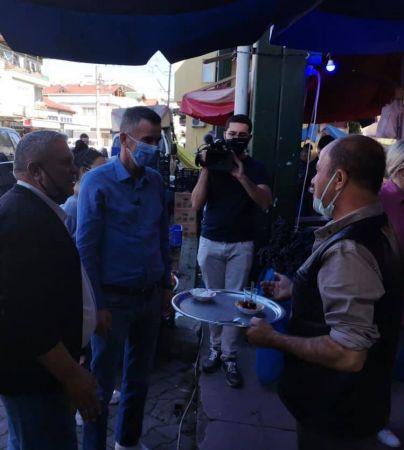 Dikbayır'dan pazar  ziyaretti