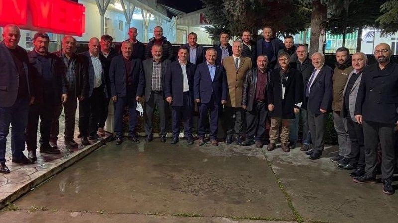 Hendek'te MHP ve AK Parti kurmayları buluştu