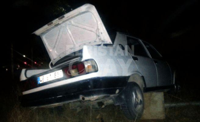 Pınarbaşı Mesire Alanında Kaza