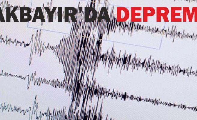 Akbayır'da 1.5 şiddetinde deprem oldu