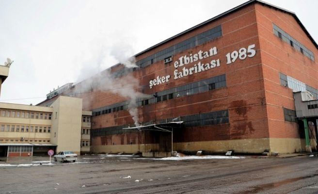 Elbistan Şeker Fabrikası'nda pancar alımı sona erdi