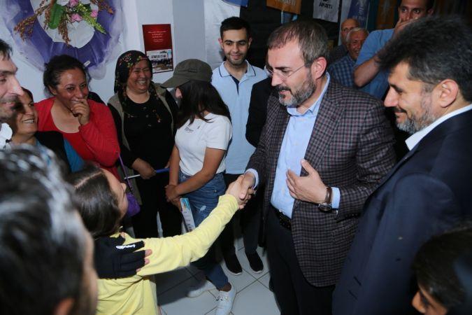 AK Parti Genel Başkan Yardımcısı ve Parti Sözcüsü Mahir Ünal, Kahramanmaraş'ta