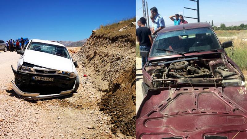 Elbistan'da trafik kazaları: 7 yaralı