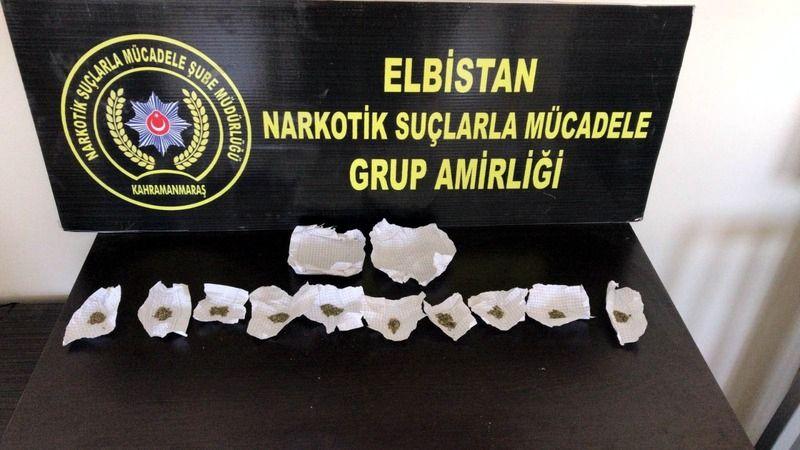 Elbistan'da bonzai operasyonu: 1 kişi tutuklandı