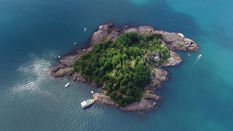 Mitolojik Giresun Adası'na turist ilgisi