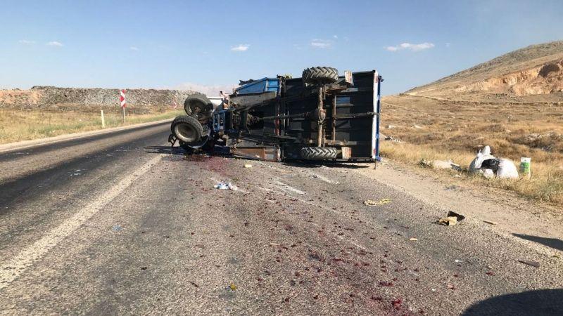 Nurhak yolunda kaza: 2 yaralı