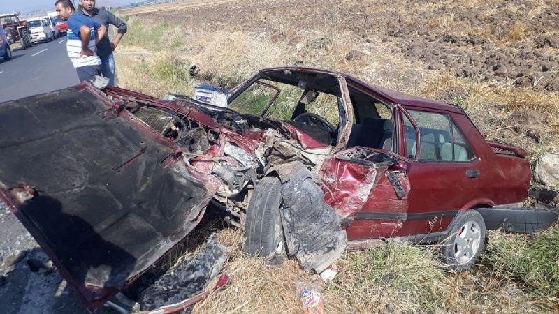 Feci Kaza: 1 ölü 3 yaralı