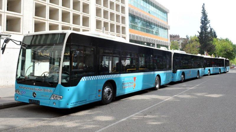 Belediye otobüsleri ücretsiz!