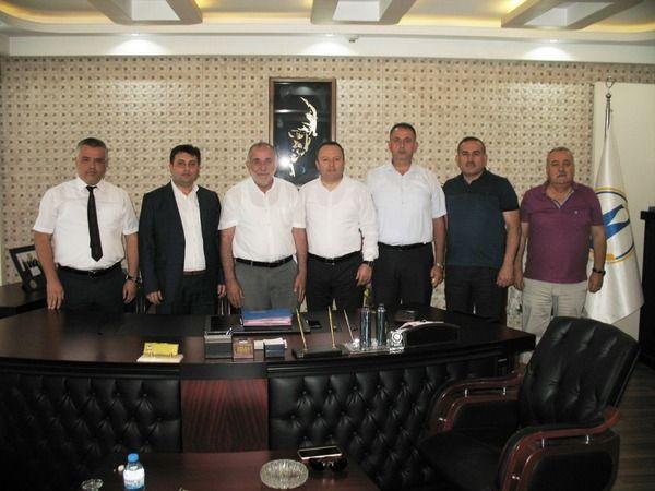 SGK yönetiminden ETSO'ya yapılandırma ziyareti