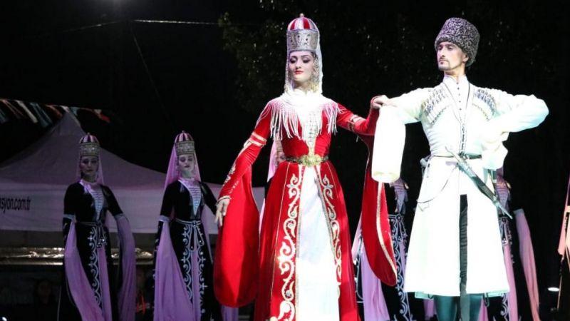 Uluslararası 13. Kafkas Kültür ve Sanat Festivali düzenlendi