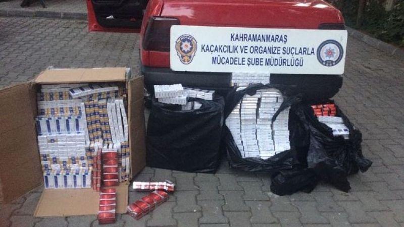 İki bin paket kaçak sigara ele geçirildi