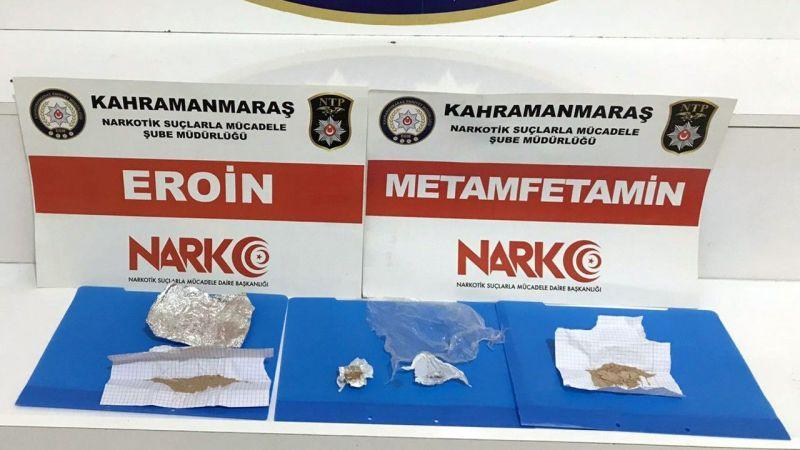 Kahramanmaraş merkezli uyuşturucu operasyonu