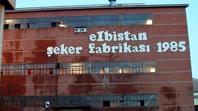 Elbistan Mutlucan Şeker Fabrikası pancar alımına başladı
