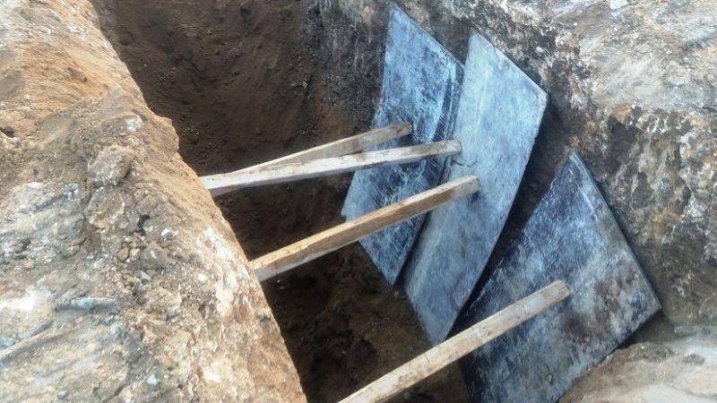 Kanalizasyon kanalı çöktü: 1 ölü 1 yaralı