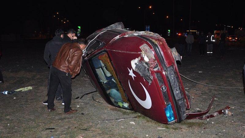 Elbistan'da feci kaza: 1 ölü 1 yaralı