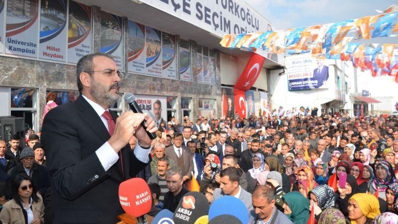 Mahir Ünal: Kılıçdaroğlu ihanet etti