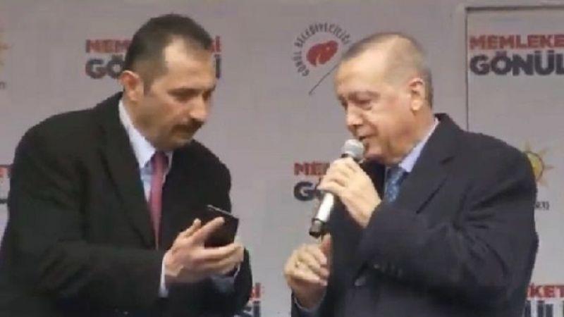 Başkan Erdoğan mitinge telefon arası verdi