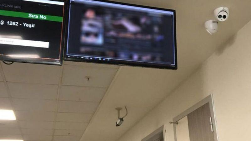 Devlet hastanesinde cinsel içerikli görüntü skandalı