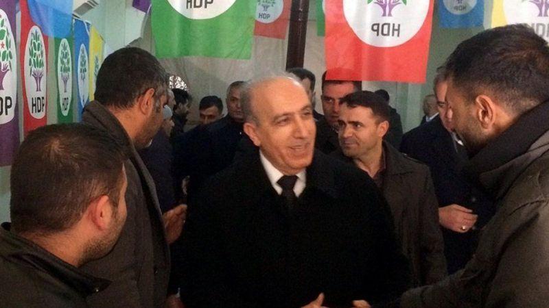 AK Parti'nin adayından HDP'ye ziyaret