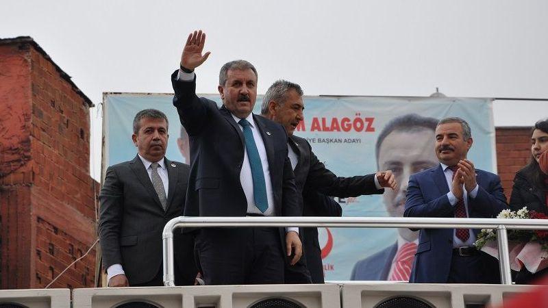 Destici Elbistan'da: En büyük silahımız birliktir
