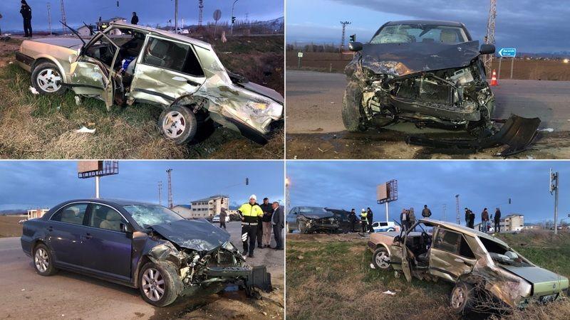 Elbistan'da feci kaza: 1 ağır yaralı