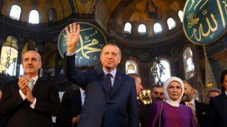 Erdoğan: Ayasofya cami diyebiliriz!