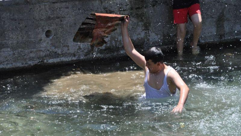 Elbistan'ın Balıklı gölü ziyaretçilere hazırlanıyor