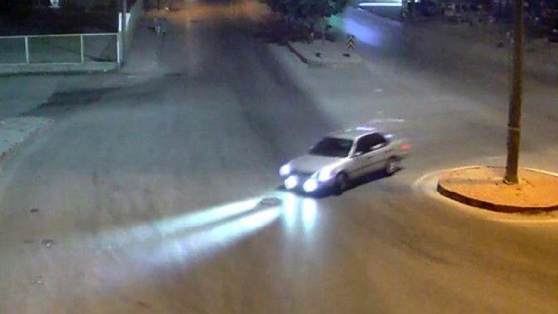 Elbistan'da drift atan sürücülere 10 bin tl para cezası