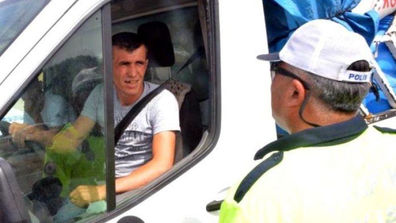 Drone ile trafik cezası yiyen sürücü: Havadan yedik cezayı