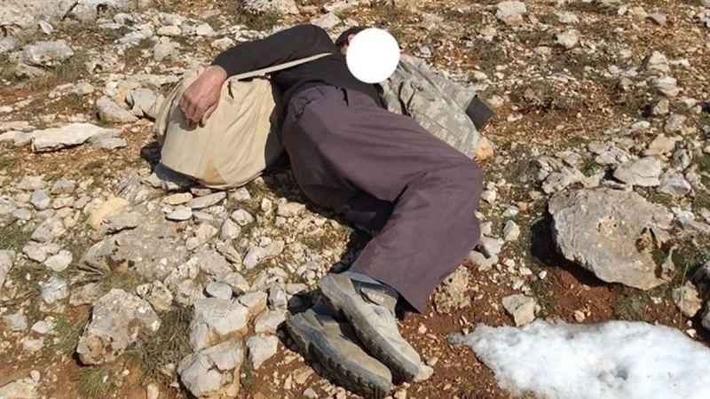 Kaçak keklik avında yakalanınca uyuyor numarası yaptı