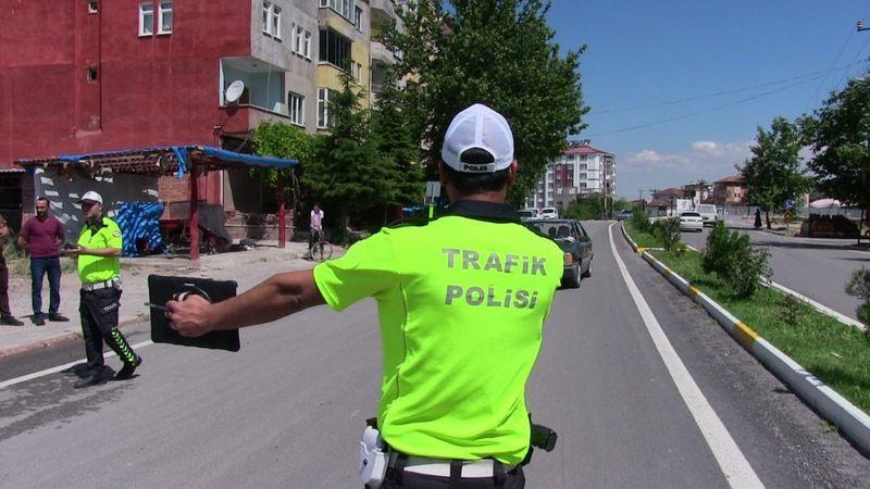 Elbistan'da ehliyetsiz sürücülere beş günde 160 bin tl ceza