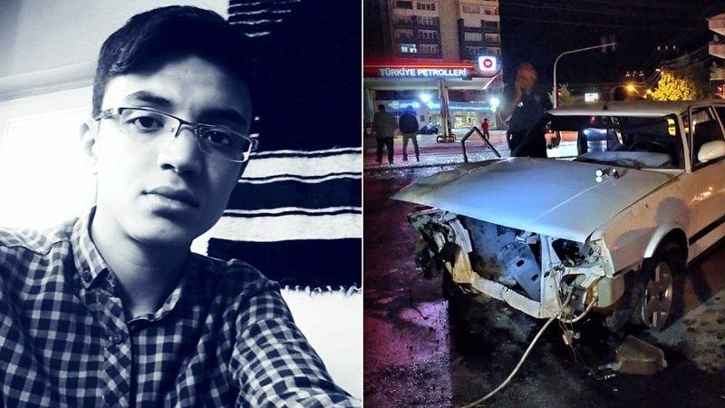 Feci kazada yaralanan 20 yaşındaki genç hayatını kaybetti