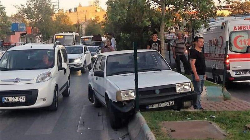 Yaya geçidinde trafik kazası: 4 yaralı