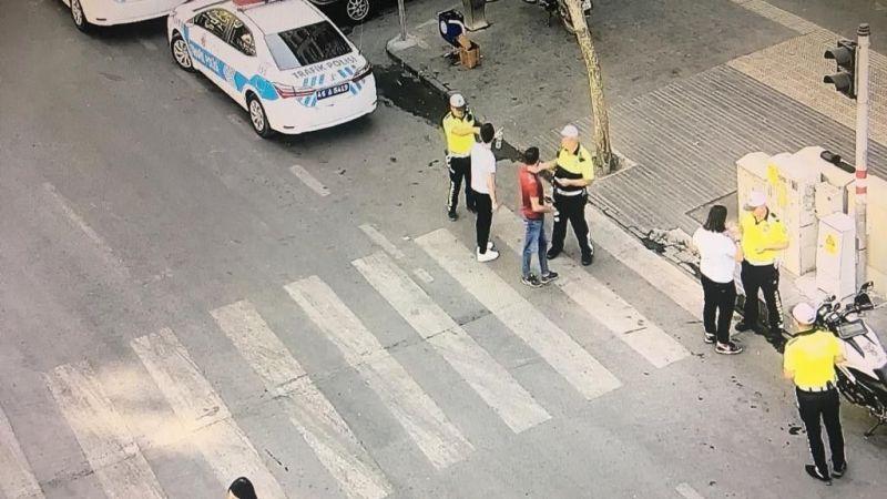 Kırmızı ışıkta geçen 41 yayaya 4 bin 428 lira ceza