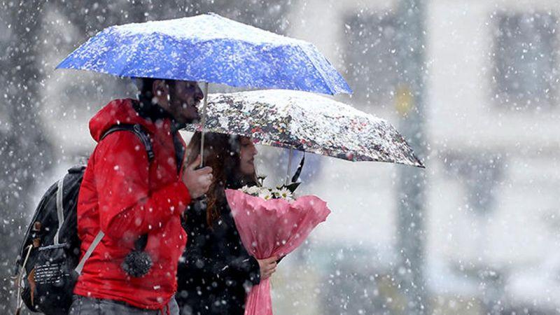 Meteoroloji'den Elbistan'a kuvvetli kar yağışı uyarısı!