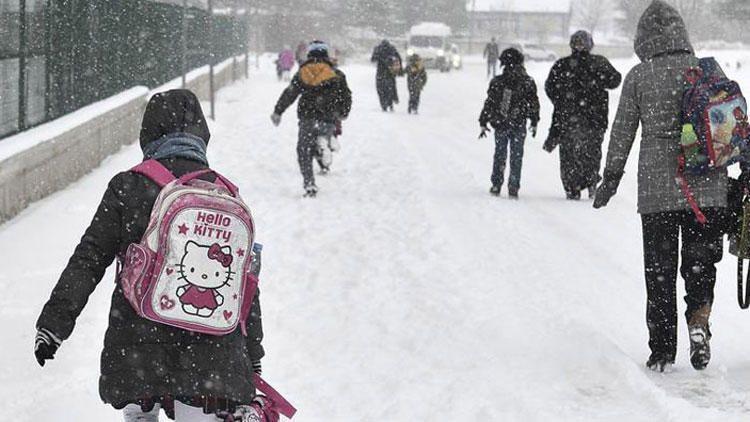 Kar yağışı uyarısı sonrası Elbistan'da okullar tatil edildi mi?