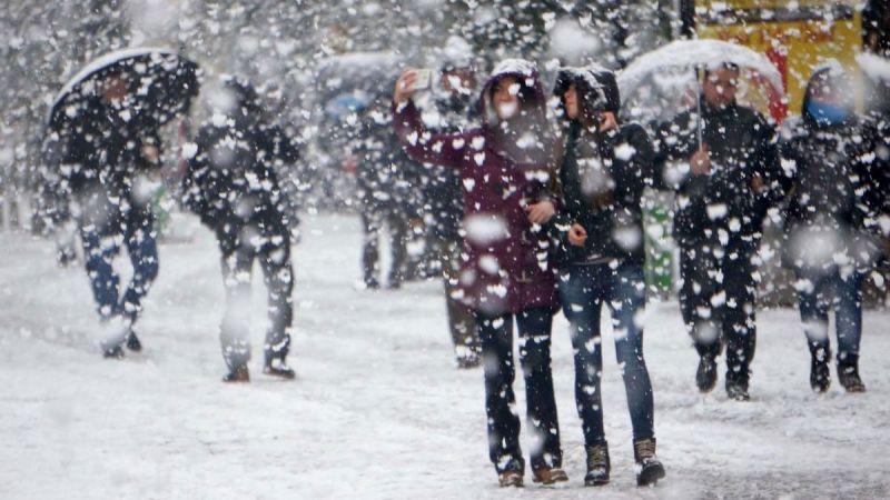 Elbistan dikkat! sağanak kar yağışı geliyor