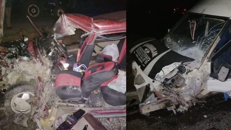 Göksun Elbistan yolunda çok feci kaza: 1'i ağır 3 yaralı