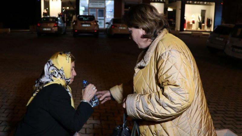 Oğlunun kaza yaptığını öğrenen anne gözyaşlarına boğuldu