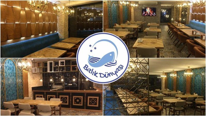 Elbistan'ın en iyi balık restoranı 'Balık Dünyası' açıldı